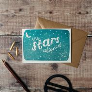 Hunter Paper Co. The Stars Aligned Card